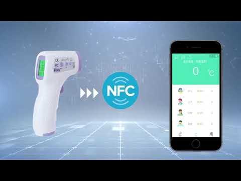 Termometro Infrarrojo NFC