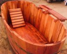 tinas de madera