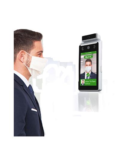 Maquina de medicion de temperatura de reconocimiento facial