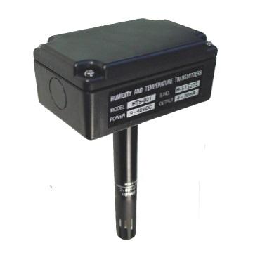 Transmisor Humedad y Temperatura Rango -20 a 80C Diametro 18mm