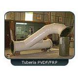 Tuberia en PVDF Estructurada en Plastico Reforzado con Fibra de Vidrio